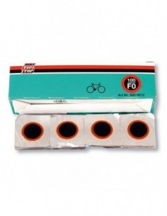CAJA PARCHES RED F0 (100...