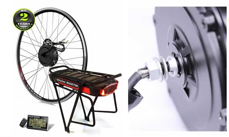 Kit Motor Bicicleta Electrica de Ciudad